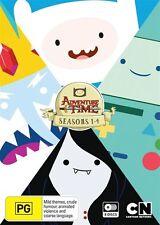 Adventure Time : Season 1-4 (DVD, 2014, 8-Disc Set)