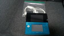 Nintendo 3DS System - Aqua Blue w/2GB Card and Nyko Pak extended battery