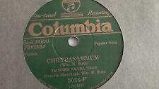 Hannes Saari -  78rpm single 10-inch - Columbia #3036-F (copy 2) Chrysantemum
