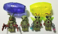 LEGO - Lot of 4 - Galaxy Squad: Mantizoid, Buggoid, Winged Mosquitoid x2 + pods