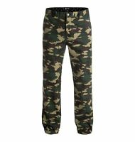 DC SHOES KALIS Chinos Camo Skate Pants Flex Fit Camouflage Mens Size 32 NEW RARE