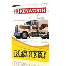 METAL SIGN KENWORTH W900 Truck Collectors Decor Garage Classic MOTOR Poster Rust