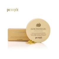 [PETITFEE] Gold & Snail Hydrogel Eye Patch 1pack(60 sheet) (AU)