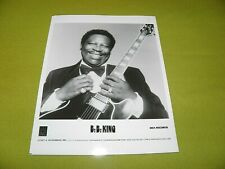 B. B. King - VERY RARE Original Press Promo Picture NM / 10 inch x 8 inch