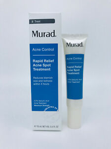 Murad Rapid Relief Acne Spot Treatment 0.5oz NEW Damaged Box EXP 10/2021