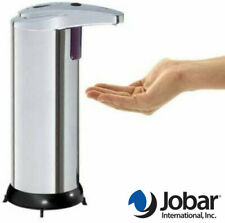 Jobar Touchless Automatic IR Sensor Stainless Steel Hands Free Soap Dispenser