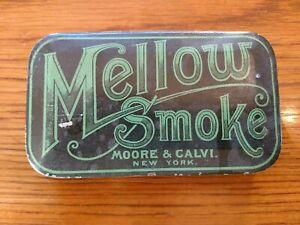 Rare! Mellow Smoke Tobacco Tin.
