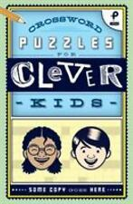 Crossword Puzzles for Clever Kids (Paperback or Softback)