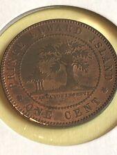 1871 PEI Canada Large cent TOKEN pre confederation Lot 13