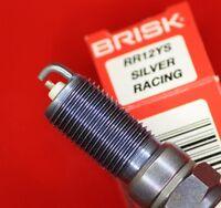 BRISK GR12YS SILVER RACING SPARK PLUG MODIFIED FORD 07-14 GT500 99-04 LIGHTNING