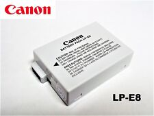New Genuine Original OEM LP-E8 Battery for Canon Rebel T2i T3i T4i T5i 550D 600D