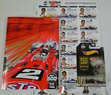 2019 Indianapolis 500 Program Starting Line-Up Insert Mario Andretti 50th New