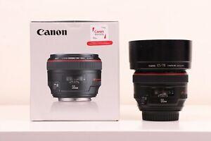 Canon EF 50mm f/1.2 USM L Lens Dream Full Frame Lens 5D 6D 7D 1D R RP