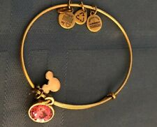 alex and ani bracelet gold Disney Pink Stone