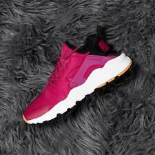 Nike Wmns Air Huarache Run Ultra Sport Fuschia / Black - Gum Yellow Size 7