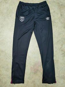Umbro West Ham Football Jogging Bottoms Trousers Training  Mens size L