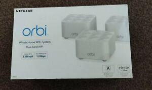 Nearly new NETGEAR Orbi Whole Home Mesh Wi-Fi Network System RBK13.