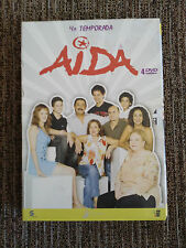 AIDA TEMPORADA 4 CUARTA COMPLETA 4 DVD - 14 CAPITULOS PACO LEON UNICA EBAY