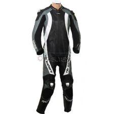 Tute in pelle e altri tessuti in pelle nera per motociclista taglia M