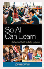 New, So All Can Learn: A Practical Guide to Differentiation, John McCarthy, Book