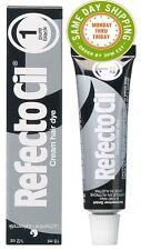 Refectocil #1 pure black Cream Hair Dye 0.5/15ml Eyebrow Tint