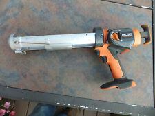 Ridgid R8804 18V 24V Cordless Caulking Gun & Instructions - Tested, Works
