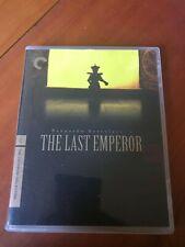 Dvd The Criterion Collection The Last Emperor Bernardo Bertolucci