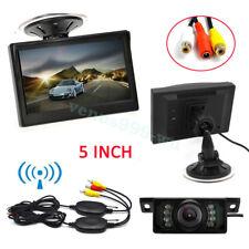 "Wireless Car Rear View Kit 5""LCD Monitor and HD IR Night Vision Reversing Camera"