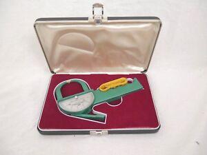 Vintage Lange Skinfold Caliper Cambridge Scientific Ind. USA Case Measuring Tap