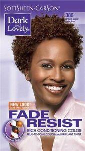 DARK&LOVELY Fade Resist Rich Conditioning Hair Color #386 Brown Sugar