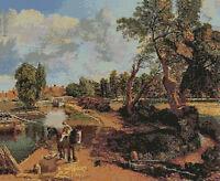 "John Constable Flatford Mill Cross Stitch Kit 16"" x 13"""