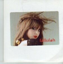 (CU854) Fallulah, I Lay My Head - DJ CD
