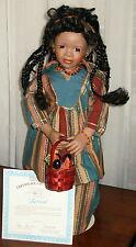 SERENA ~ Kenya Doll ~ Passport to Friendship ~ 1995 Ashton-Drake NIB