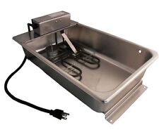 Stainless Steel Industrial Evaporator Pan Condensate - 7.5 Quart - 120 Volts