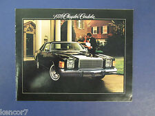 1978 Chrysler Cordoba Sales Brochure C7930