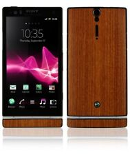 Skinomi Light Wood Full Body Skin+Screen Cover Skin for Sony Ericsson Xperia S