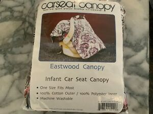 Infant Carseat Canopy - Eastwood Canopy - multicolor  NIP  (A)