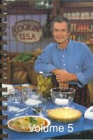 Cookin' USA Cookbook Vol 5 Merle Ellis TV 1993 Trick Of The Trade Margarita Pie