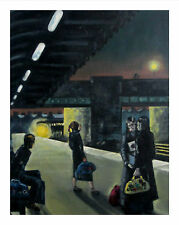 Northern Soul; Northern Soul Art; Neil Thompson paintings, Come on Train, A4