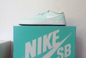 Nike sb Check solar cnvs us 8 39 grün mint neu Damen woman weiss 921463-300