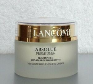 New Lancome Absolue Premium Bx Creme SPF15 1.7 oz 50ml EXP 08/22 Full Size DEMO
