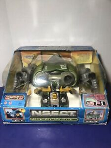 """Tyco RC N.S.E.C.T Robotic Attack Creature """"New Needs Battery"""" See Description"""