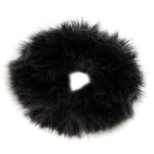 New Fluffy Faux Fur Furry Scrunchie Hair Elastic 9CM UK