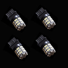 4 X 54SMD 3528 DRL 3157 3757 4114 4157 54LED White Daytime Running Light HY