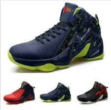 Men Basketball High Top Sneaker Trail Athletic Sport Breathable Casual Shoes US9