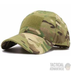 Multicam Baseball Cap Operators Hat Airsoft Army Military Camo Camouflage Cap UK