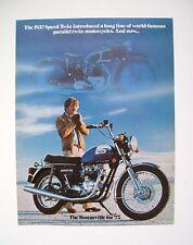 1977 TRIUMPH Bonneville 750 Sales literature/Sales brochure  (NOS-not a reprint)