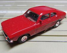 per slot car Racing Modellismo ferroviario Ford Capri con Motore piatto armatura