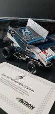 Kyle Larson Sprint Car Diecast 1/24 Plan B Sales Autographed W/ COA (1 of 350)