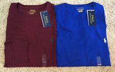 NEW Men Polo Ralph Lauren LONG SLEEVE Crew Neck T Shirt STANDARD FIT